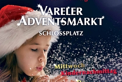 Plakat Vareler Adventsmarkt 2019