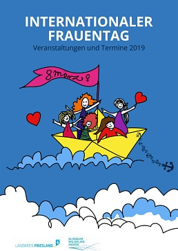 Programm Internationaler Frauentag 2019 © Landkreis Friesland