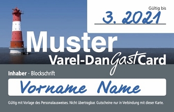 Varel-Dangast-Card © Stadtmarketing Varel GmbH